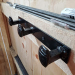 Railroad Spike Wall Hanger - BlackflagSteel
