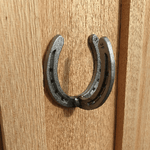 Horseshoe Wall Hook - BlackflagSteel