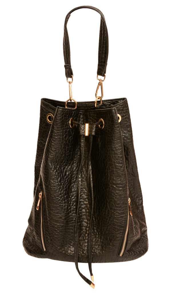 Dark Heart Bucket Bag