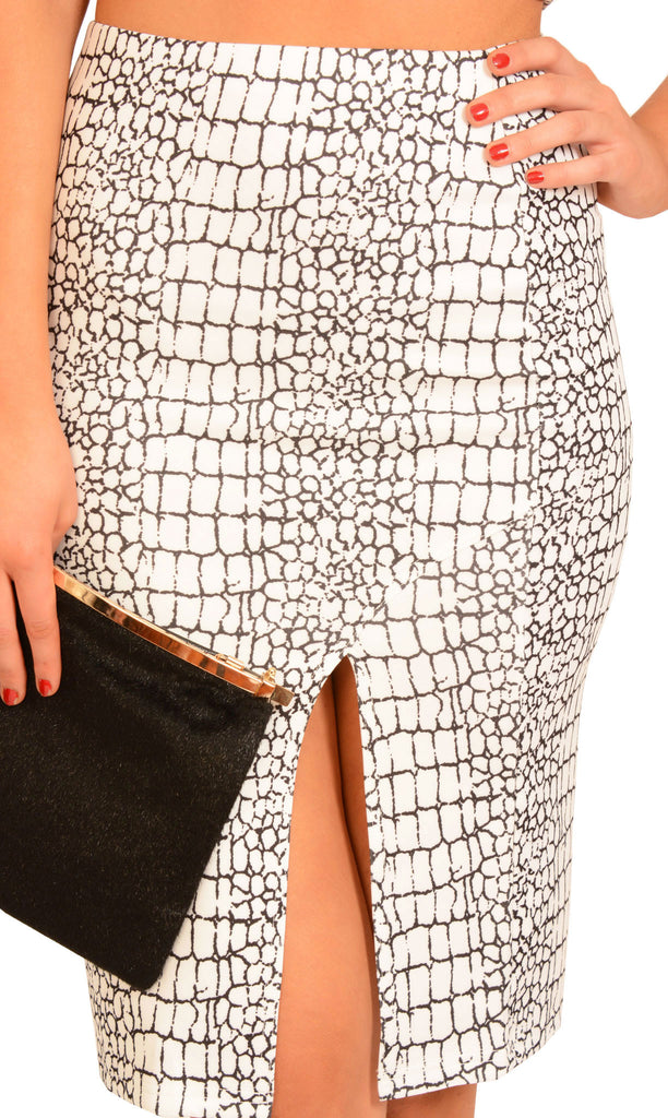 Cracked Heart Skirt