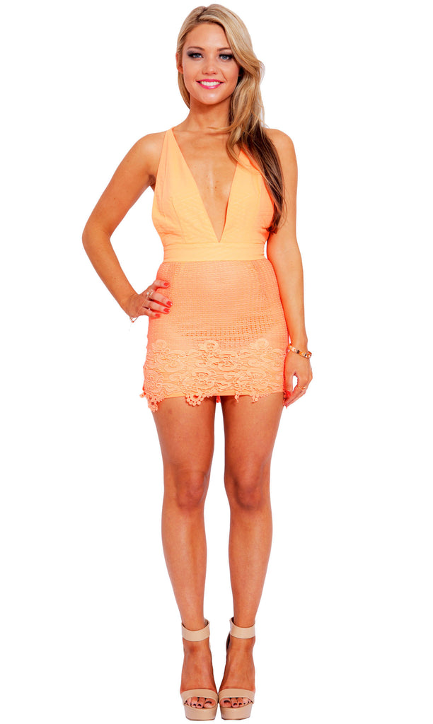 Orange Tang Dress