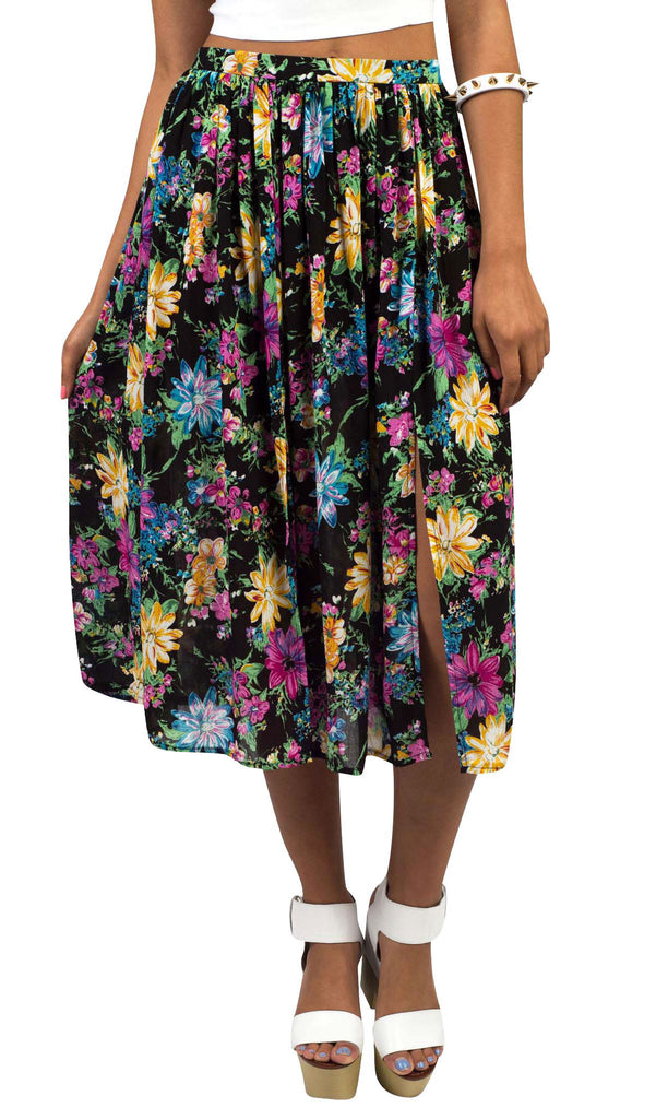 Flowers In The Wind Skirt