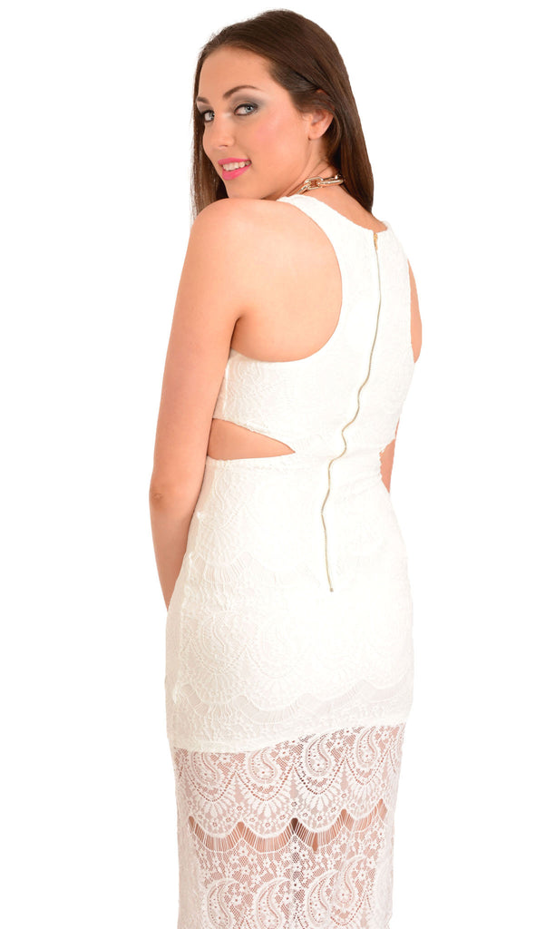 White Wonderland Dress