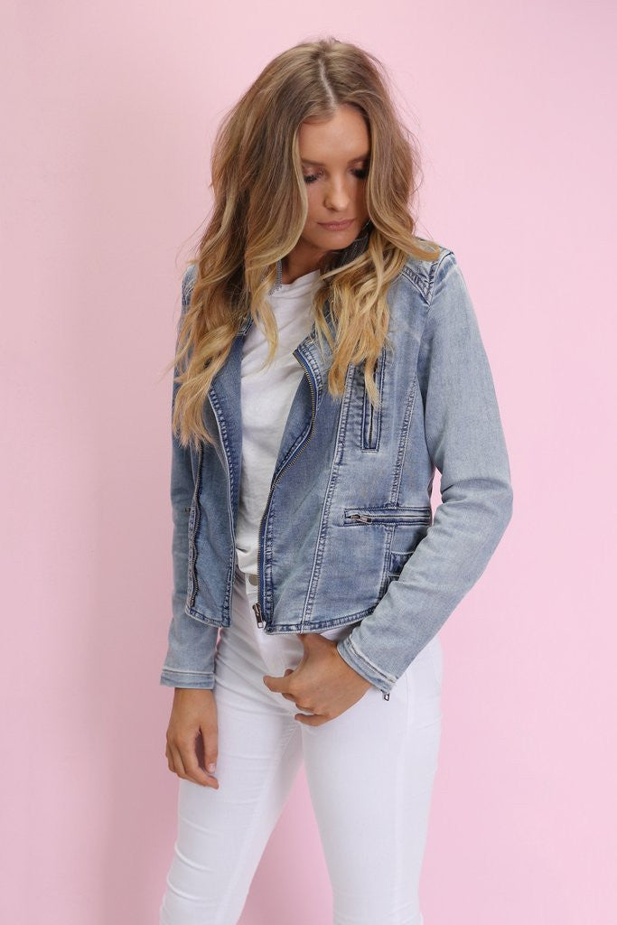 Call Me Maybe Jacket - Denim