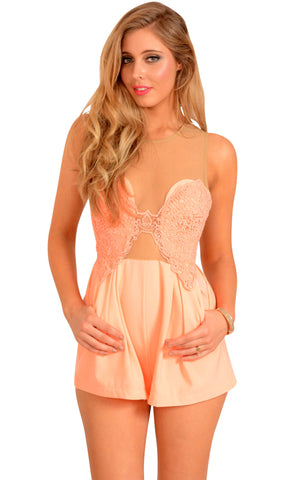 Peachy Keen Playsuit