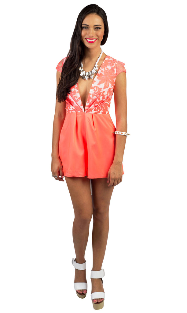 Hot Balmy Night Playsuit