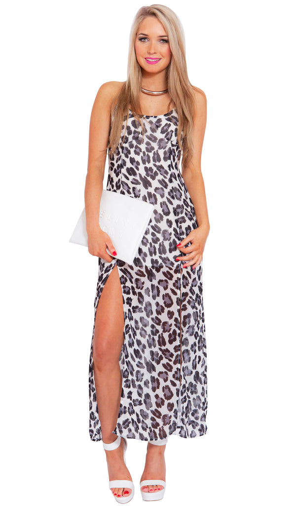 Spotted Dreams Maxi Dress