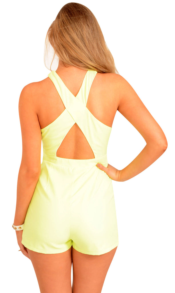 Cross My Heart Playsuit