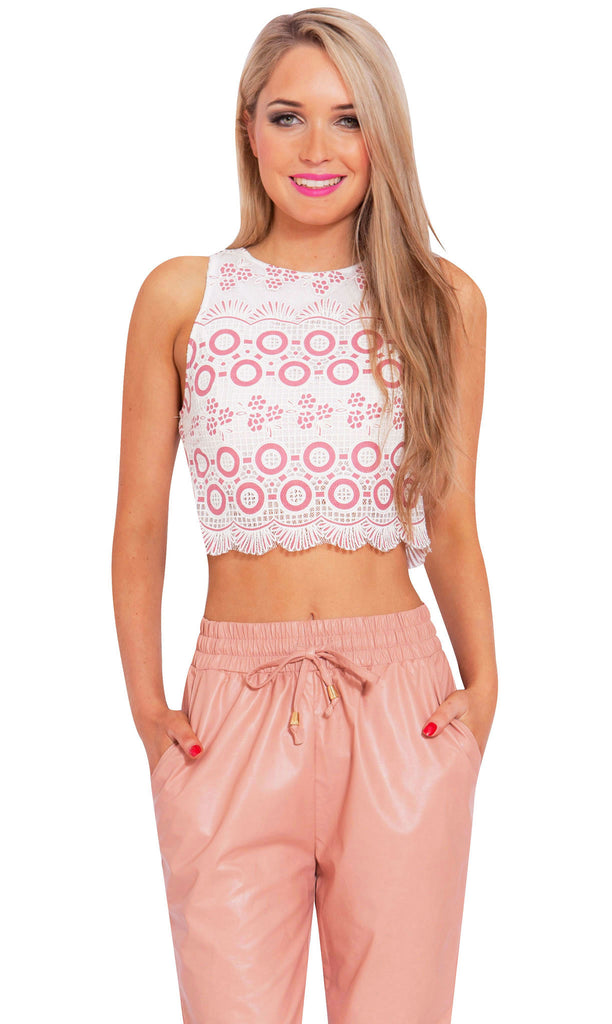 Strawberry Sundae Crop Top