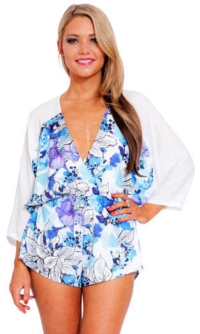 Always Blue Playsuit