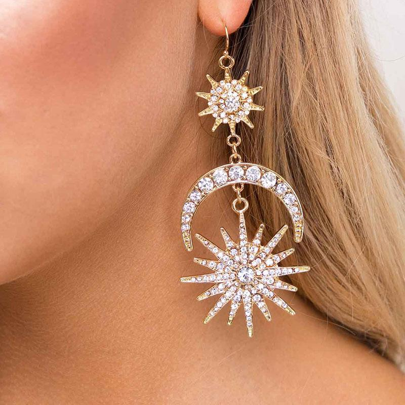 The Moon & The Stars Earrings