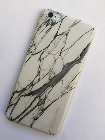 Marble iphone cover in white - 6/6S