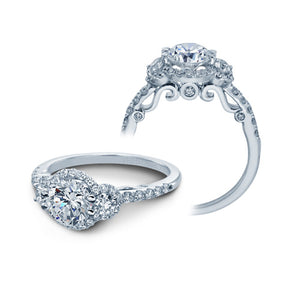 Verragio Insignia 7049D Halo Pave Diamond Engagement Ring