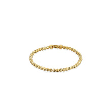 Load image into Gallery viewer, Officina Bernardi Yellow Gold Plated Sterling Silver Moon Cut Bracelet