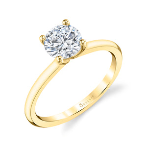 Sylvie Dominique - Solitaire Engagement Ring - S1955