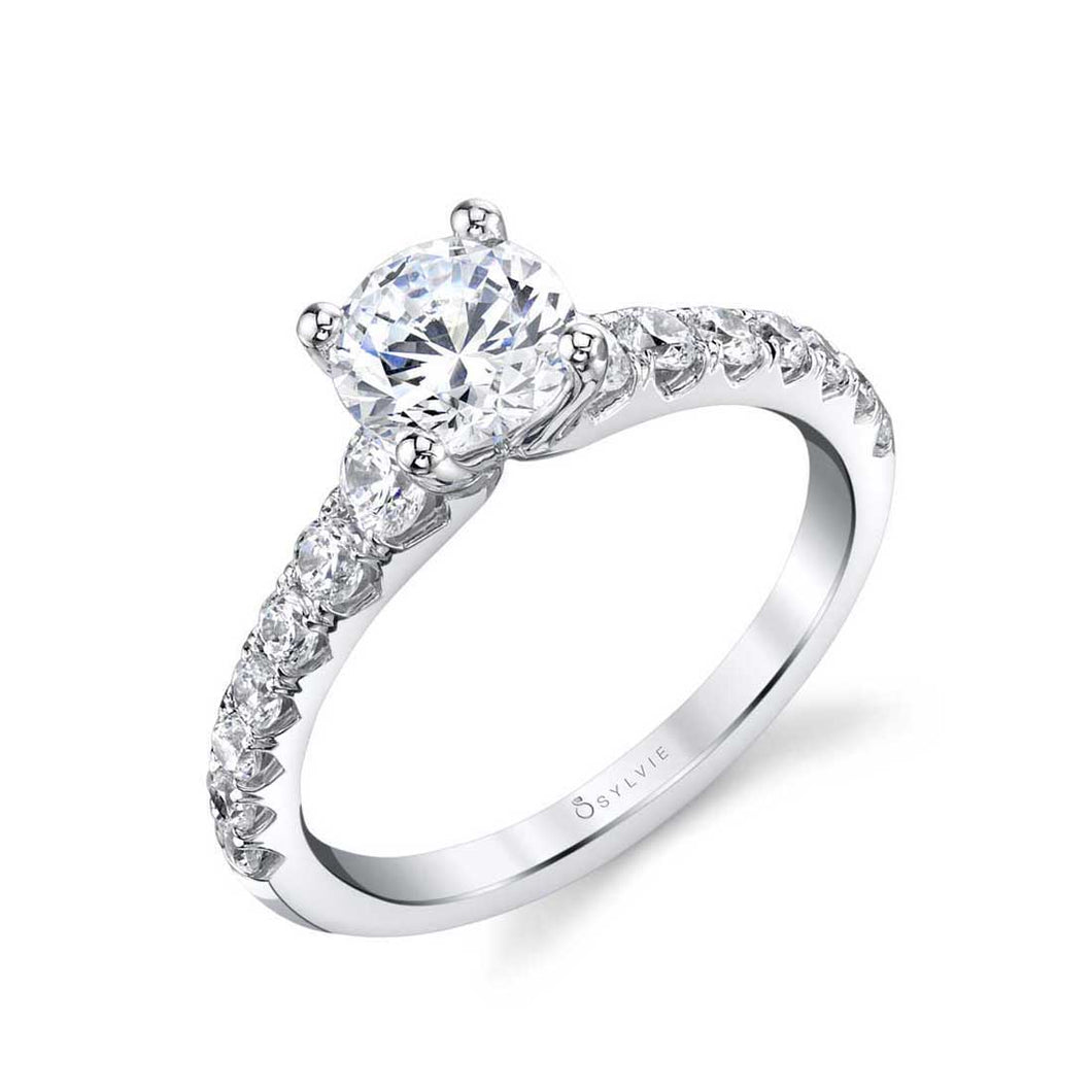 Sylvie Veronique Classic Engagement Ring - S1860