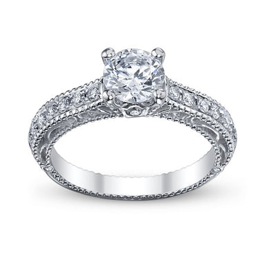 Verragio Venetian AFN-5001R Diamond Pave Engagement Ring