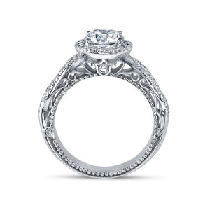 Verragio Venetian AFN-5005R Diamond Halo Pave Engagement Ring