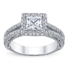 Load image into Gallery viewer, Verragio Venetian AFN-5007P Halo Pave Diamond Engagement Ring