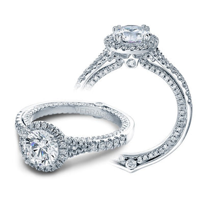 Verragio Couture ENG-0424DR Diamond Halo Prong Set Engagement Ring