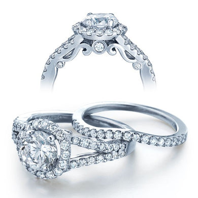 Verragio Insignia INS-7010R Diamond Halo Prong Engagement Ring