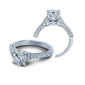 Verragio Classic V-906-R7 14K White Gold Diamond Engagement Ring