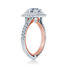 Load image into Gallery viewer, Verragio Couture ENG-0425CU White & Rose Gold Diamond Engagement Ring