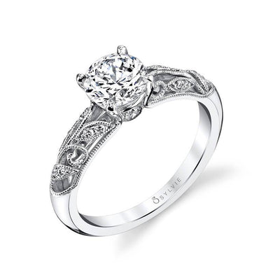 Sylvie Roial - Vintage Inspired Engagement Ring S1392
