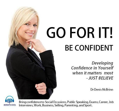 Go for It! Be Confident front cover