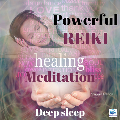 Powerful Reiki Healing Meditation for Deep Sleep front cover