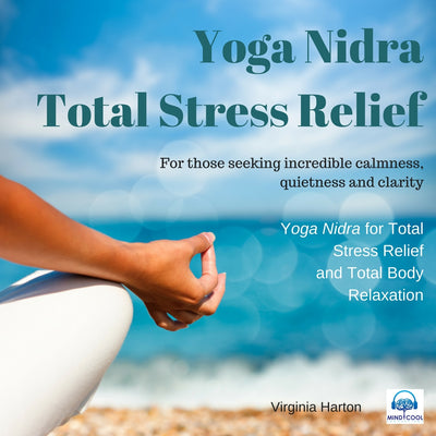 Yoga Nidra Total Stress Relief front cover