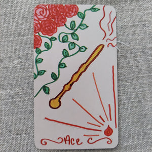 The Paige of Wands Tarot Deck