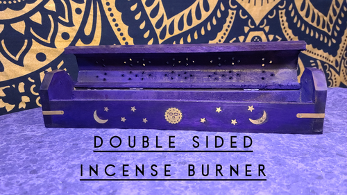 Purple Double Sided Burner