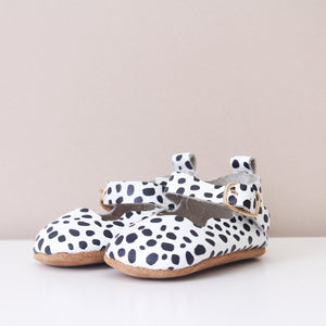 Flora Animal Print Girls Mary Jane Shoes