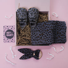 Load image into Gallery viewer, Leopard Lovers Grey Unisex New Baby Gift Set