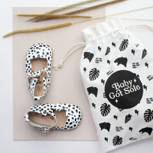 Load image into Gallery viewer, Flora Animal Print Girls Mary Jane Shoes