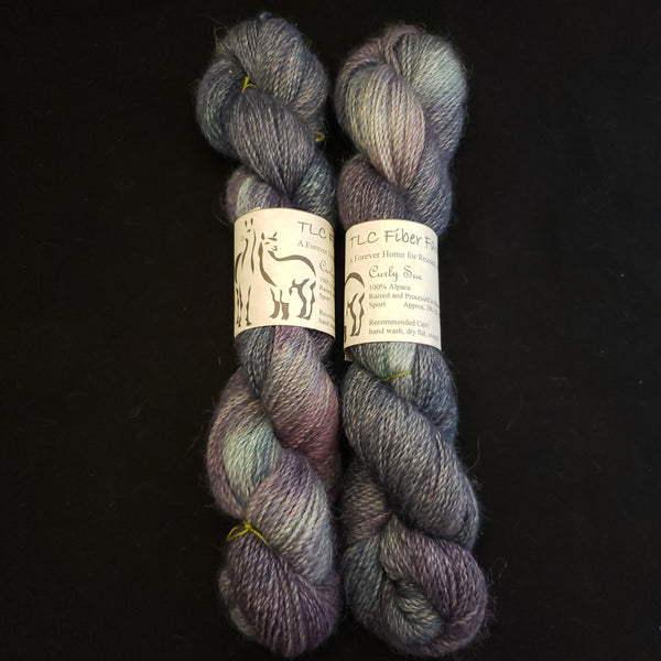 Curly Sue - Back Cove alpaca yarn