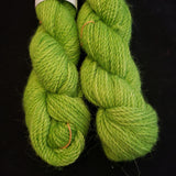 William - Oscar the Grouch alpaca yarn
