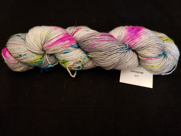 Glassphalt Hamal Plush Sock Yarn