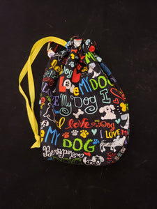 I Love My Dog Project Bag