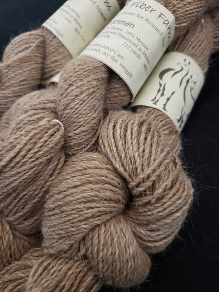 Melman - Natural alpaca yarn