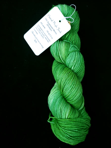"""Another Glorious Morning"" Hamal Plush Sock Yarn"