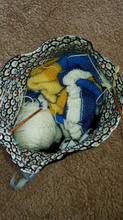 Load image into Gallery viewer, Knitting Needles Project Bag