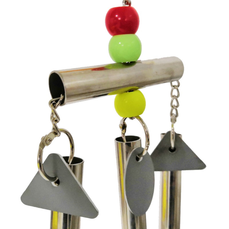 Parrot Bird toy Squirrel bells Hanging Cage String Station frame Large small and medium Bird toy
