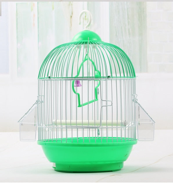 1PCS Metal Wire Bird Cage