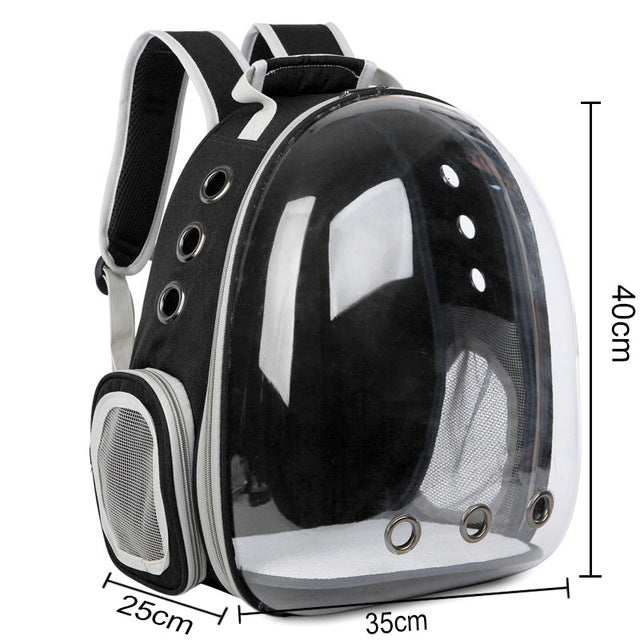 Free shipping Cat bag Breathable Portable Pet Carrier Bag Outdoor Travel backpack for cat and dog