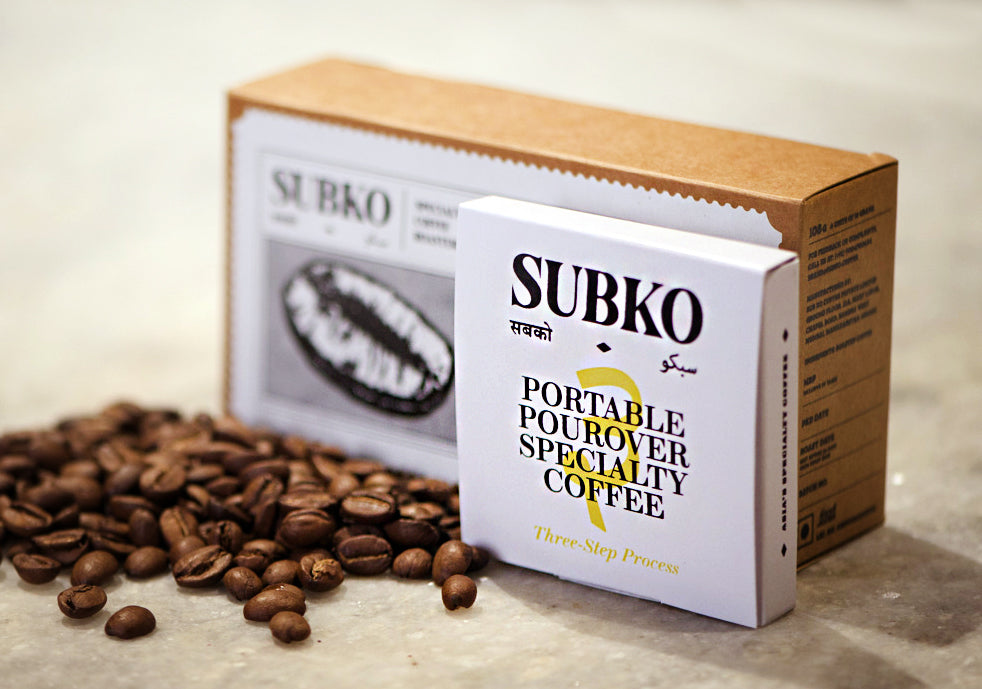 Subko Portable Pourovers (Woodway Estate, Washed Process, Medium Roast)
