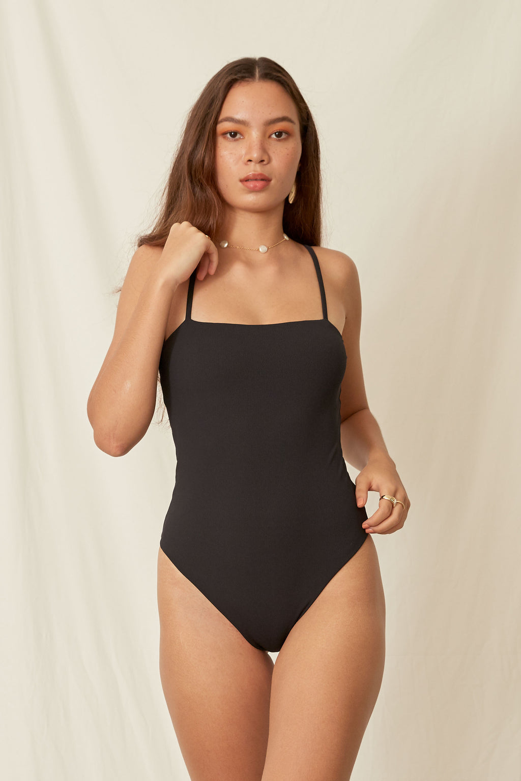 IOS BODYSUIT  Nero/Vino Reversible