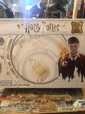 Harry Potter Dinnerware Service for Four NEW