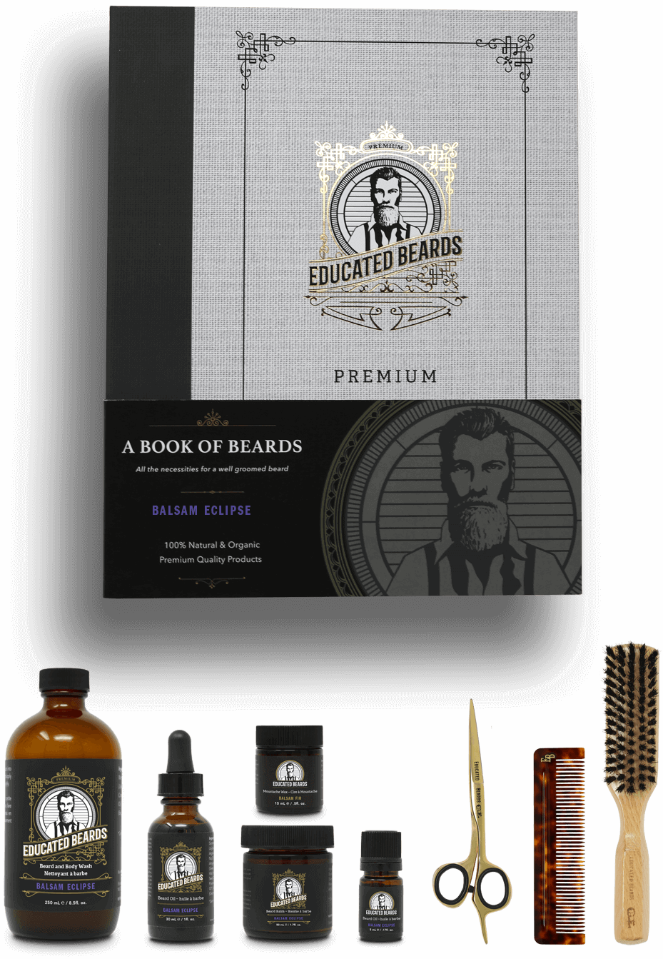 Balsam Eclipse premium beard grooming kit